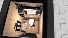 Raumgestaltung WC 2 in der Kategorie Toilette