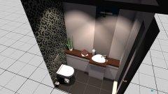 Raumgestaltung WC EG in der Kategorie Toilette