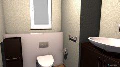 Raumgestaltung Wc gast in der Kategorie Toilette