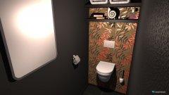 Raumgestaltung WC Pauli in der Kategorie Toilette