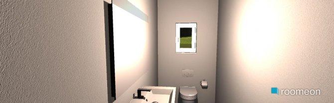 Raumgestaltung WC unten in der Kategorie Toilette