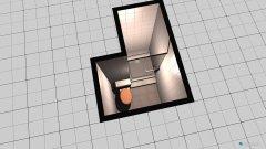 Raumgestaltung wc in der Kategorie Toilette