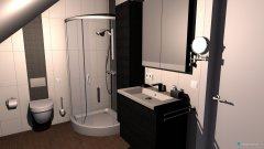 Raumgestaltung WC_DG_KlöPla in der Kategorie Toilette
