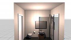 Raumgestaltung Wohnung6 in der Kategorie Toilette