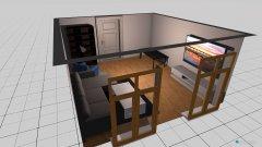 Raumgestaltung Wohnzimmer in der Kategorie Toilette