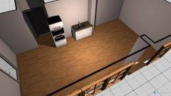 Raumgestaltung EG Wohn Küche in der Kategorie Veranstaltungshalle