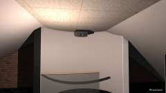 Raumgestaltung Grundriß Dachstudio in der Kategorie Veranstaltungshalle