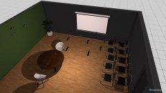 Raumgestaltung Grundrissvorlage Quadrat in der Kategorie Veranstaltungshalle