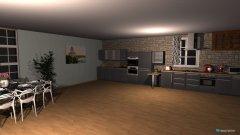 Raumgestaltung Kitchen and homecinema in der Kategorie Veranstaltungshalle