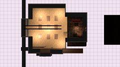 Raumgestaltung Loft leer in der Kategorie Veranstaltungshalle