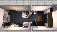 Raumgestaltung Proberaum Different Inside - Favorite Enemy v2 in der Kategorie Veranstaltungshalle