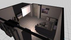 Raumgestaltung Projekt Wohnzimmer Oben in der Kategorie Veranstaltungshalle