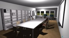 Raumgestaltung Redaktionsraum in der Kategorie Veranstaltungshalle