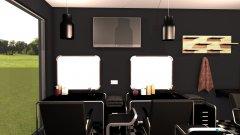 Raumgestaltung barber 2 design in der Kategorie Verkaufsraum