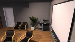 Raumgestaltung Besprechungszimmer mit Präsentations- und Arbeitsfläche in der Kategorie Verkaufsraum
