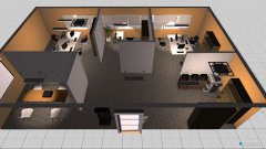 Raumgestaltung Büro v2 in der Kategorie Verkaufsraum
