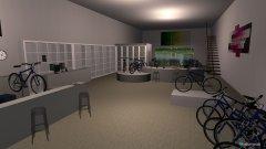 Raumgestaltung ciclotech shop 1 in der Kategorie Verkaufsraum