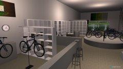Raumgestaltung ciclotech shop 2 in der Kategorie Verkaufsraum