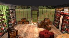 Raumgestaltung Haflinger Shop in der Kategorie Verkaufsraum