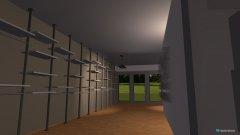 Raumgestaltung shelving wall2 in der Kategorie Verkaufsraum