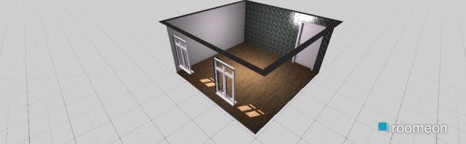 Raumgestaltung Grundrissvorlage Quadrat in der Kategorie Wintergarten-Veranda