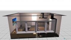 Raumgestaltung Wohnzimmer in der Kategorie Wintergarten-Veranda