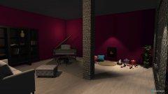 Raumgestaltung 007 in der Kategorie Wohnzimmer