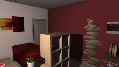Raumgestaltung 1 Raum wohnung in der Kategorie Wohnzimmer