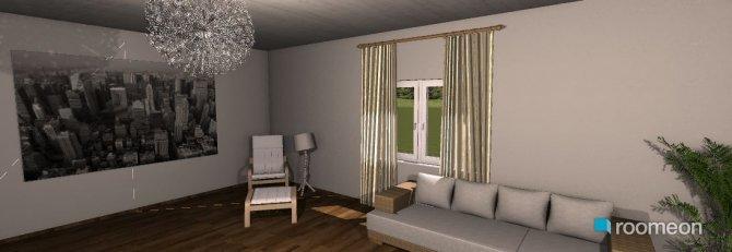 Raumgestaltung 1. Raumerstellung in der Kategorie Wohnzimmer