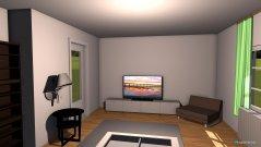 Raumgestaltung 1. Variante in der Kategorie Wohnzimmer