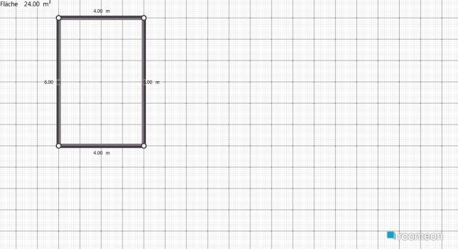 Raumgestaltung 1. Wohnung in der Kategorie Wohnzimmer