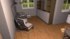 Raumgestaltung 1 Zimmer in der Kategorie Wohnzimmer