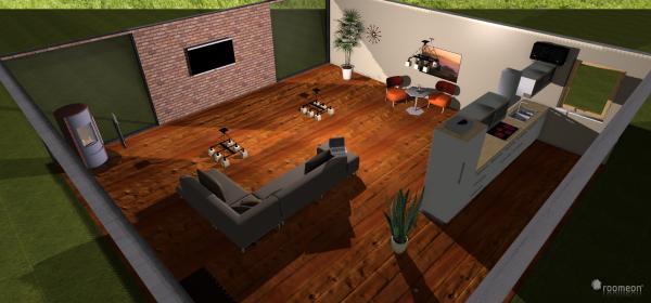 Raumgestaltung 110203 Offene Küche - so muss es sein :-) in der Kategorie Wohnzimmer