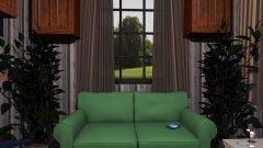 Raumgestaltung 12 qm Wohnung in der Kategorie Wohnzimmer