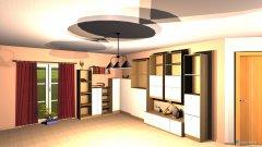 Raumgestaltung 2015_04_04 Wohn u. Esszimmer in der Kategorie Wohnzimmer