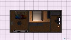 Raumgestaltung 3 Räume in 1 in der Kategorie Wohnzimmer
