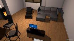 Raumgestaltung 3.Variante in der Kategorie Wohnzimmer