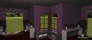 Raumgestaltung 4 Sided Home in der Kategorie Wohnzimmer