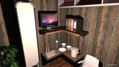 Raumgestaltung 5 qm Loft in der Kategorie Wohnzimmer