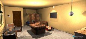 Raumgestaltung 50 sq.m. condo unit in der Kategorie Wohnzimmer