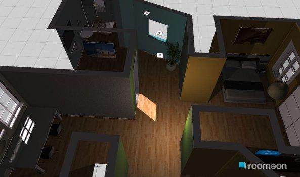 Raumgestaltung 60m2 in der Kategorie Wohnzimmer