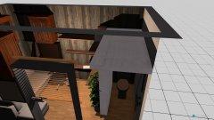 Raumgestaltung 8 qm mit Bad in der Kategorie Wohnzimmer