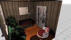Raumgestaltung 9 qm in der Kategorie Wohnzimmer