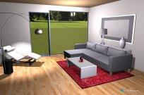 Raumgestaltung A simple room in der Kategorie Wohnzimmer