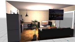 Raumgestaltung ABM Loft Wohnzimmer in der Kategorie Wohnzimmer