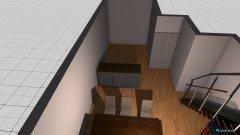 Raumgestaltung AJS_50_EG_WoZi in der Kategorie Wohnzimmer