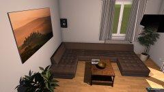 Raumgestaltung aktuell Eckcouch in der Kategorie Wohnzimmer