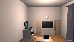 Raumgestaltung Alex Zimmer 1 in der Kategorie Wohnzimmer