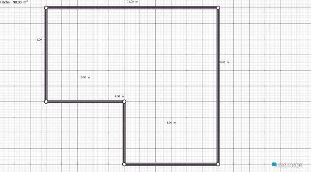 Raumgestaltung Alisa in der Kategorie Wohnzimmer