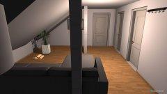 Raumgestaltung alte Heide Wohnzimmer in der Kategorie Wohnzimmer
